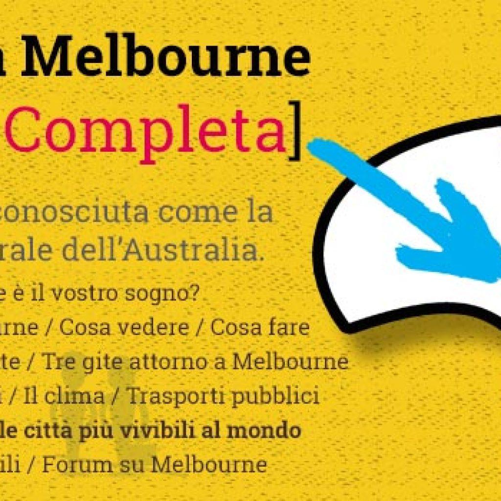 incontri luoghi Melbourne