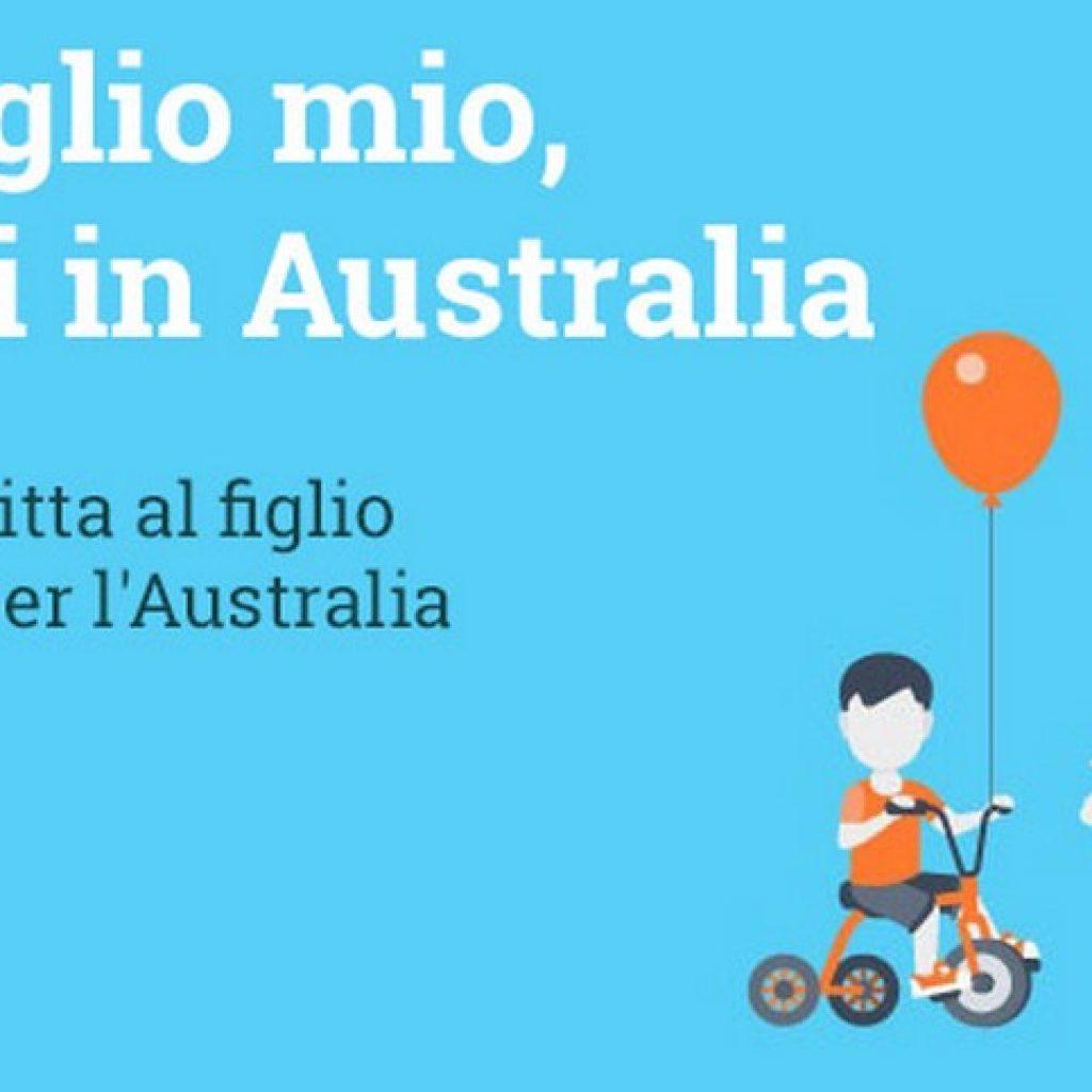 Auguri Di Natale Ad Un Figlio.A Te Figlio Mio Che Vai In Australia Portale Australia