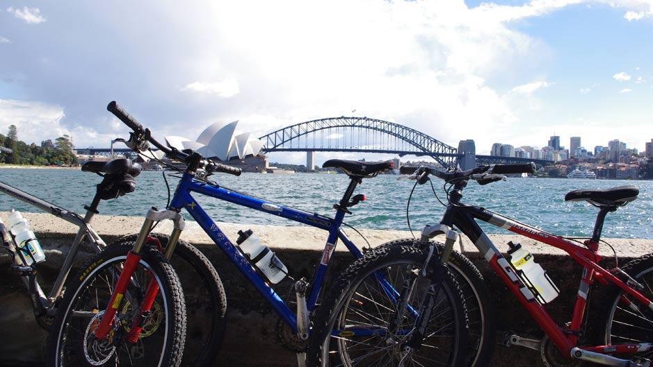 Andare in bicicletta in Australia