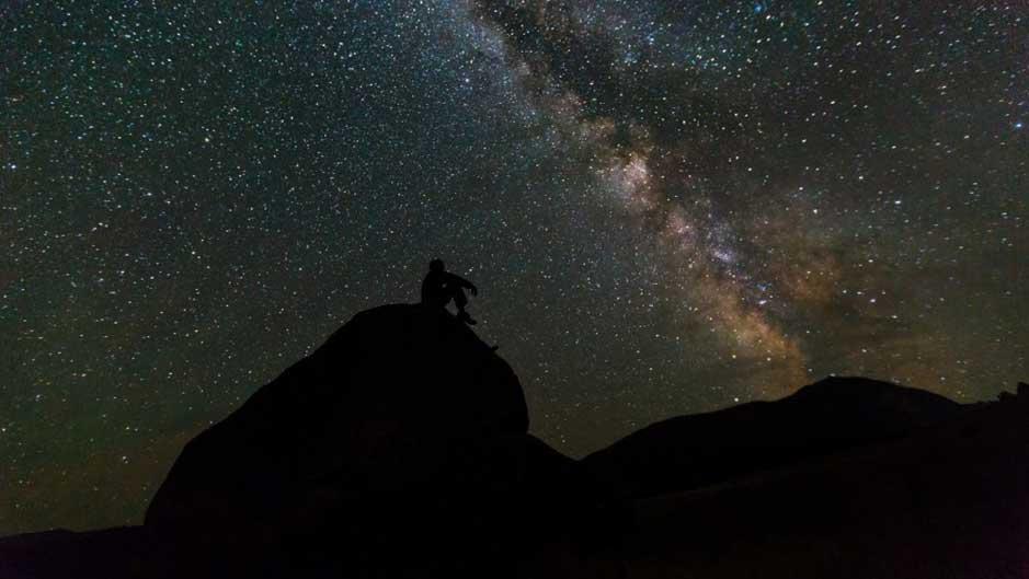Consigli su come guardare le stelle a occhio nudo